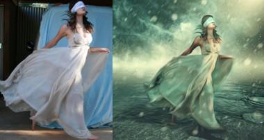 Photoshop Manipulation Tutorials Photo Effects | Dream Girl