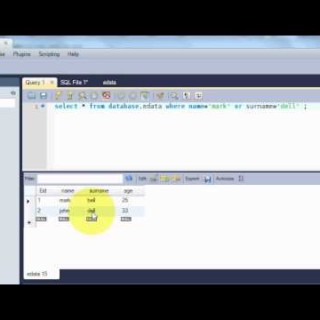 Beginners MYSQL Database Tutorial 6#  MySQL AND & OR Operators Statement Query