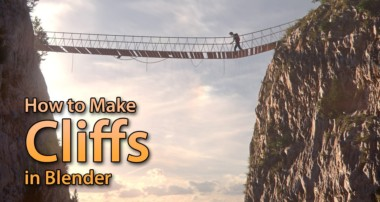 How to Make a Cliff in Blender