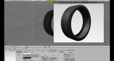 How to Make a Car Tire in Blender