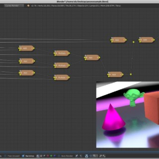 Blender Cycles – Splitting and combining render passes