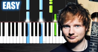 Ed Sheeran – Photograph – EASY Piano Tutorial by PlutaX – Synthesia