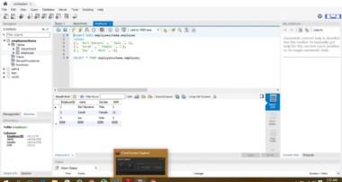 MySQL workbench tutorial 1