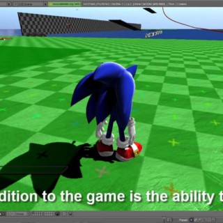 Blender 3D Sonic Fangame: ENORMOUS UPDATE (Update 2) (NEW UPDATE IN DESCRIPTION)