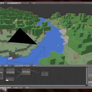 Blender 3D Tutorial – Minecraft Welten in Blender mit Cycles rendern [PART 1] [German]