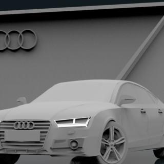 Blender 3D | Audi A7 | Part 1