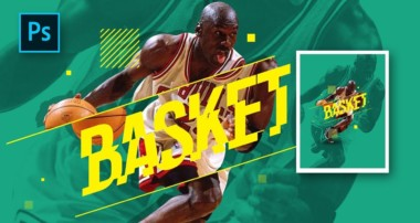 How to Make Professional Sports Poster Design in Photoshop – Photoshop Tutorials
