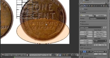 Blender Tutorial : Make a Coin in Blender 2.63