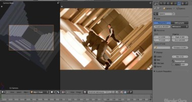 Recreate the Hallway Scene from Inception using Blender – Part 1 of 2