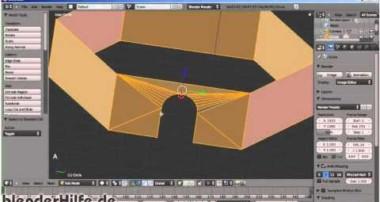 Blender 3D Einsteiger Tutorial 2a – eine Burg Modellieren (deutsch)