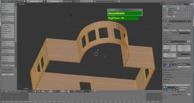 Blender 2.59 Modeling Tutorial, Modeling Walls & Rooms Quickly