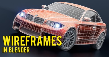 How to Render a Wireframe in Blender