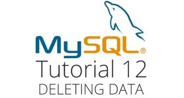 MySQL tutorial 12 – Deleting data