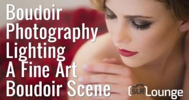 Boudoir Photography | Lighting A Fine Art Boudoir Scene