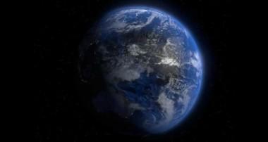 Blender rotating earth (thx to Blender Guru)