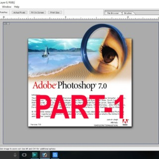 All tools of adobe photoshop 7.0 in Hindi Part (1)