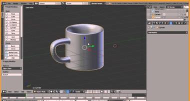 [ K – TUTORIAL ] Basic Blender 3D – Buat Gelas cuma 5 menit aja!!