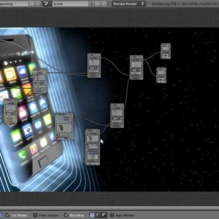 Create a Slick Smartphone Ad in Blender