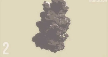 Blender3D Toon Shader Particle Smoke