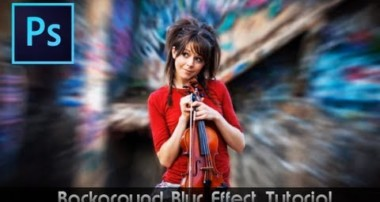 Photoshop CS6 Tutorial • Awesome Blur Effect