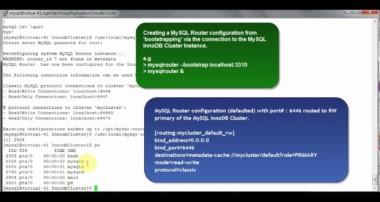 InnoDB Cluster(using MySQL shell) Tutorial