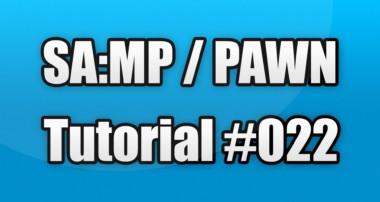 SA:MP / PAWN Tutorial #022 – Carsystem MySQL (Fahrzeuge erstellen)