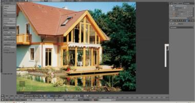 blender 3 D  Tutorial modeling house 11032017 Part 1