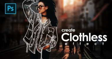 How to Create Clothless Effect / Invisible Jacket in Photoshop – Photoshop Tutorials