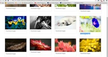 {How2Create} Bootstrap Responsive Portfolio Gallery, Zoom Effect, Image View With Use FancyBox