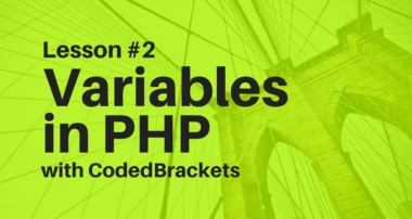 php mysql tutorial | lecture 2: Handling Variables in PHP | 2018