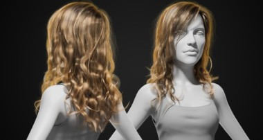 Styling and Rendering Long Hair with Blender and Cycles – Introduction