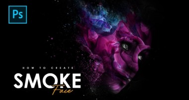 How to Create Smoke Face Explosion Photo Manipulation – Photoshop Tutorials