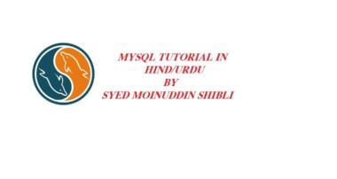 MySql tutorial-3 Insert Command (Hindi urdu)