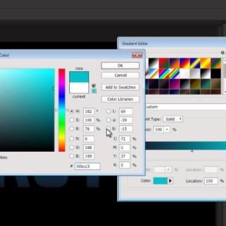 Light Burst Text Effect – Photoshop Tutorial ( Beginners)