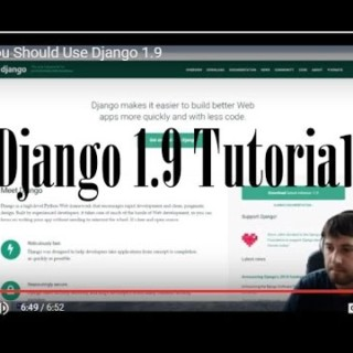 Django 1.9 Tutorial – 3. How To Setup Your Database With Django 1.9