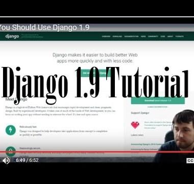 Django 1.9 Tutorial – 3. How To Setup Your Database With Django 1.9