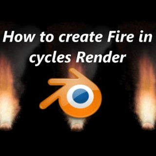 Blender 3D:  How to create fire in Blender Cycles Render