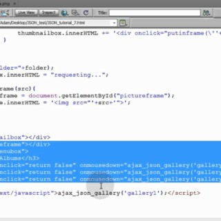 json tutorial for beginners part 7 Ajax PHP MySQL Data Request Programming