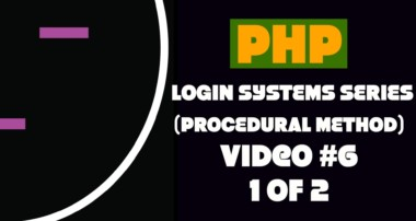Processing MySQL Queries (1 of 2) – PHP Login Tutorial #6