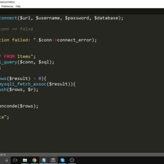 PHP MySQL Web Service (JSON) Tutorial