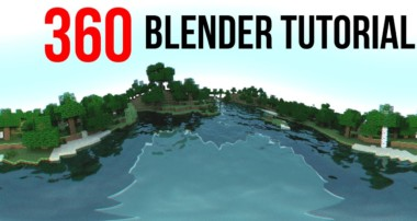 Render 360 images in Blender (Blender Tutorial) [HD]