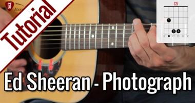 Ed Sheeran – Photograph | Gitarren Tutorial Deutsch