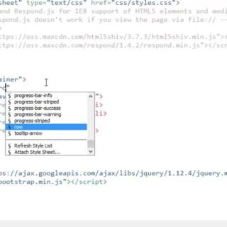 [Bootstrap CSS FrameWork] Bài 7. Mở đầu về thiết kế Menu với Navs