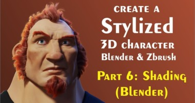 Tips for creating 3d Characters (Blender) Part 6 – Skin Shading