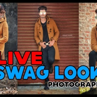 Swag Style Look || Best male model poses || (Live Photography) Portrait Photography tutorial