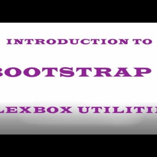 Bootstrap 4 Tutorial # 2 – Flexbox utilities