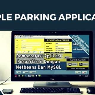 Parking Application Using Netbeans And MySQL