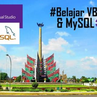 Belajar VB Net – MySQL : Insert Data Siswa ke Database MySQL Part 3