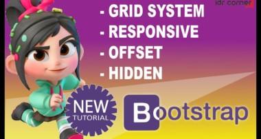 Tutorial Bootstrap #3 – Grid System RESPONSIVE  – OFFSET – HIDDEN