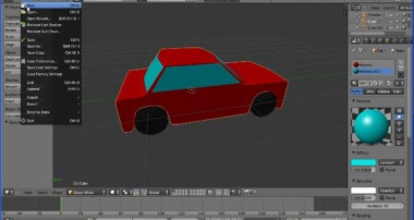 Blender Tutorial Making a Simple Model of a Car Part 1 The Car Body